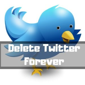 How to Delete Twitter Account – Forever!