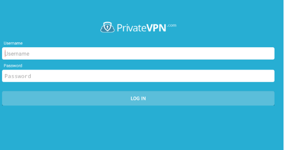 Username-and-Password-for-PrivarteVPN-login