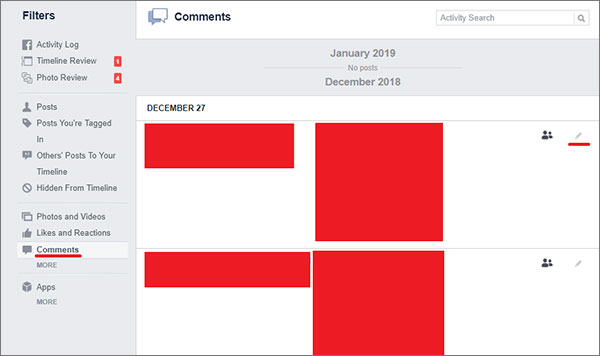 Facebook-Delete-Comments