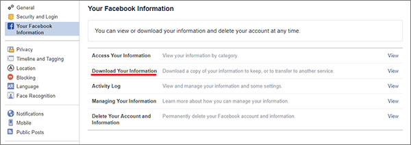 Facebook-Download-Your-Information