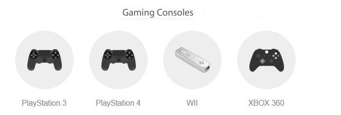 Hide-My-IP-Gaming Consoles