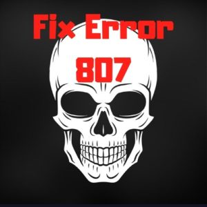 VPN Error 807 – Quick Fix to Your VPN Server Problems