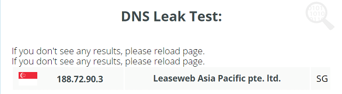 Betternet-DNS-Leak-Test