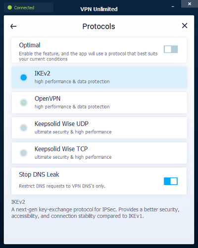 VPN-Unlimited-Protocols- Review