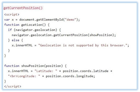 HTML5-geolocation-API-code