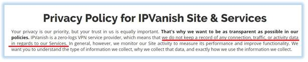 IPVanish-privacy-policy