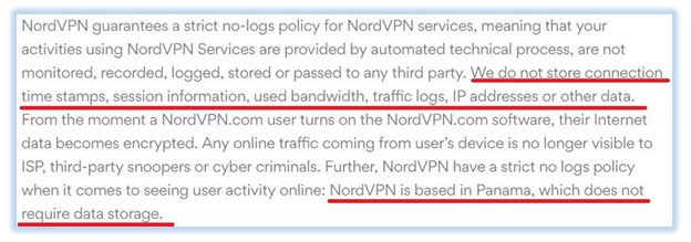 NordVPN-privacy-policy
