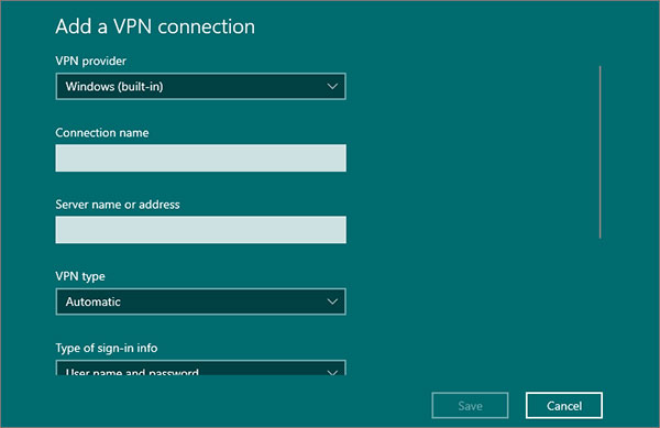 Connecting-home-VPN