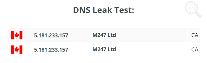 VPN Proxy Master DNS Leak Test