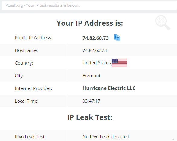 IP-Leak-Test-Ultrasurf