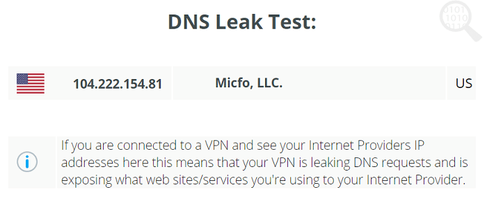 Norton-Secure-VPN-DNS-Test