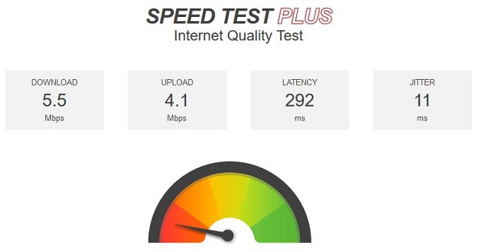 PIA-VPN-for-FireStick-speedtest