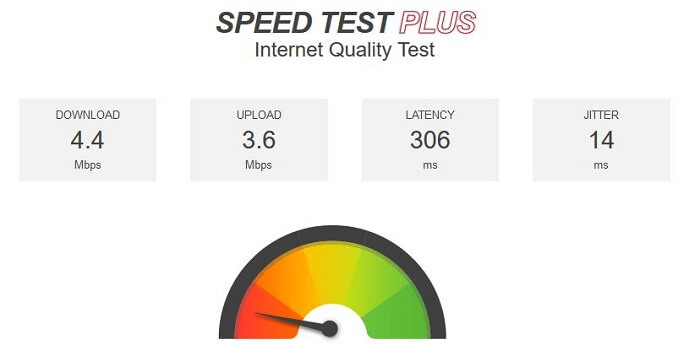 PrivateVPN-for-Firestick-Speedtest
