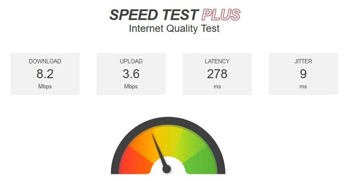 PureVPN-for-FireStick-speedtest