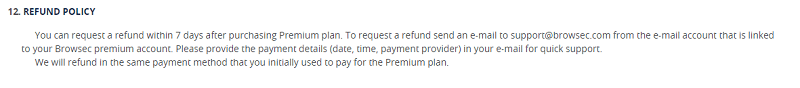 Refund-Policy-Browsec