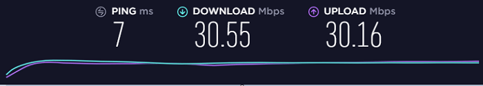 Speed-Test-without-AzireVPN