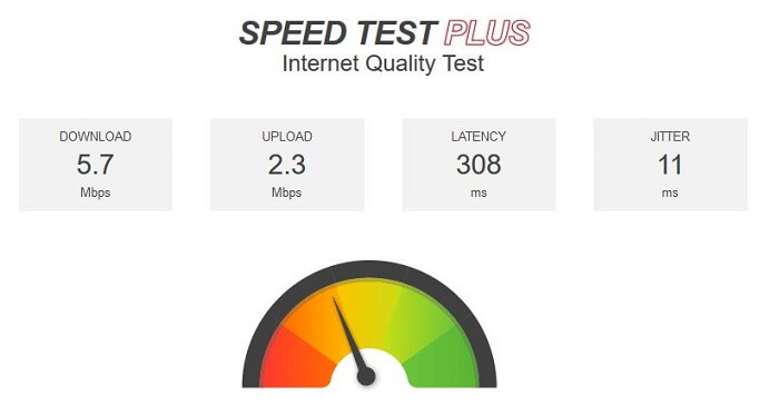 Surfshark-VPN-for-Firestick-Speedtest