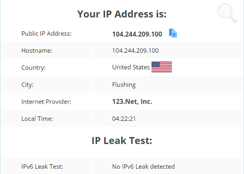 VIP72-IP-Leak-Test