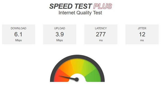 VyprVPN-for-Firestick-speedtest