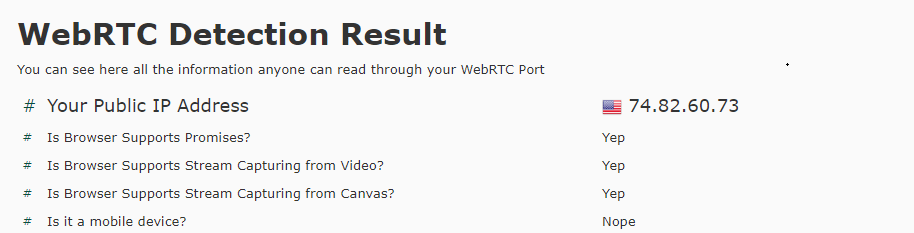 WebRTC-Test-UltraSurf