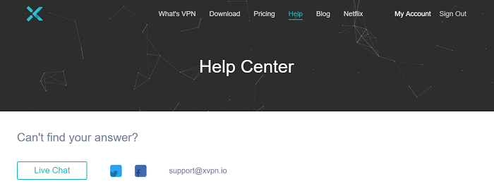 X-VPN-Csutomer-Support
