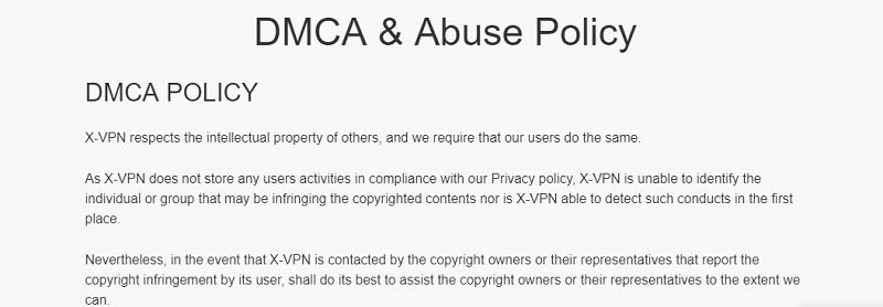 X-VPN-DMCA-and-Abuse-Policy