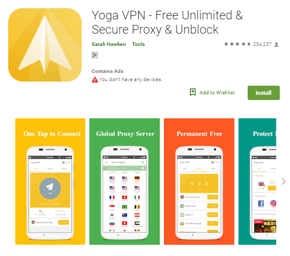 Yoga-VPN-For-Android