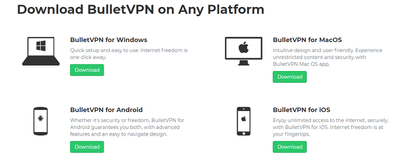Bullet-VPN-devices