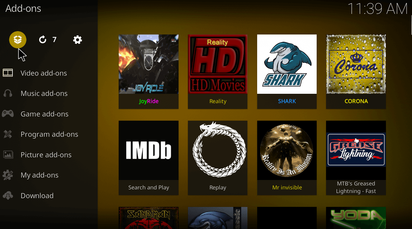 Kodi-package-installer-icon