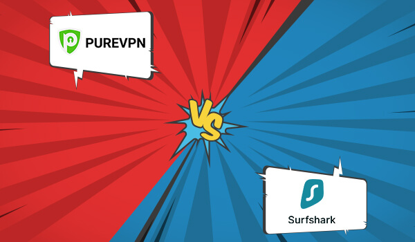 PureVPN vs Surfshark