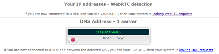 SetupVPN-DNS-and-WebRTC-Leak-Tests