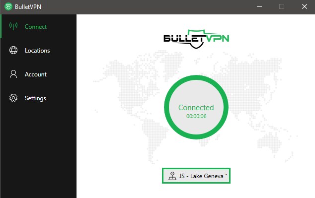 US-server-Bullet-VPN-Review