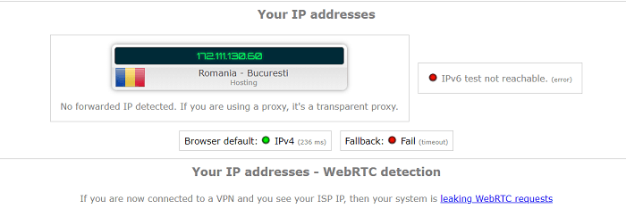 WebRTC-Leak-Test-VPN4All