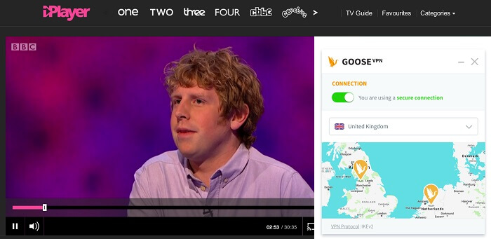 Goose-VPN-working-with-BBC-iplayer-2020
