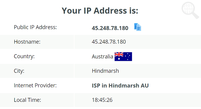 IPVanishVPN-IP-Leak-Test
