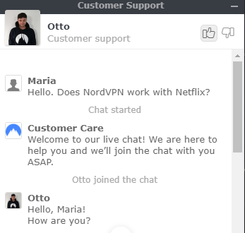 NordVPN-customer-support