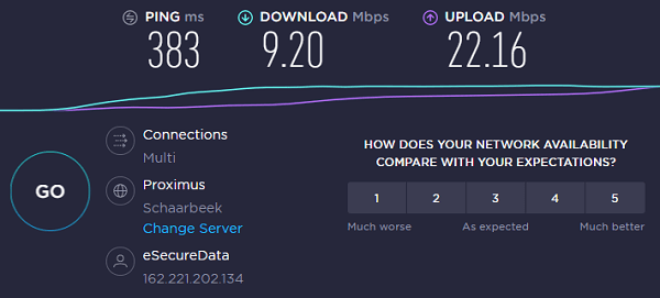 VPN-Unlimited-Speed-Test-on-Canada-West-Server