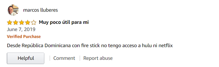 VyprVPN-user-reviews-on-Amazon-Store
