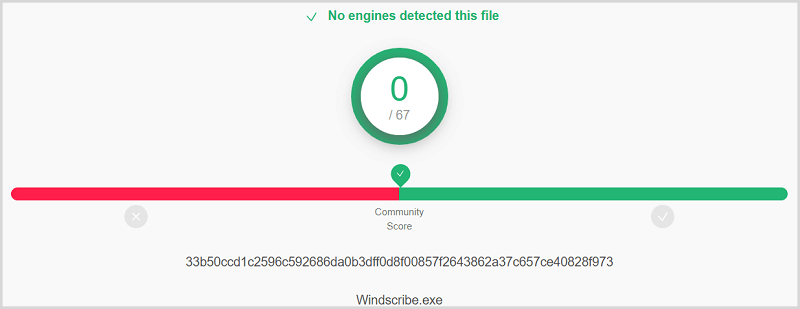 Windscribe-Virus-Test
