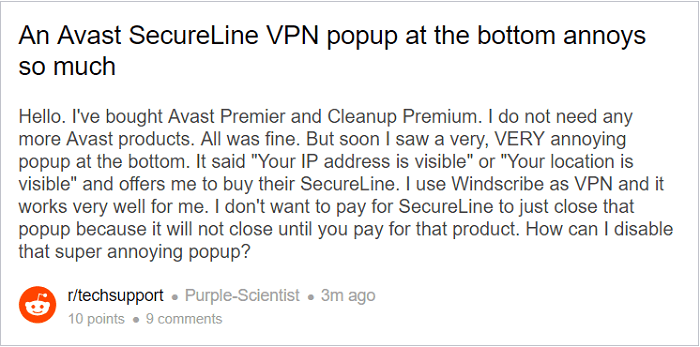 avast-secureline-vpn-popup-annoys-so-much