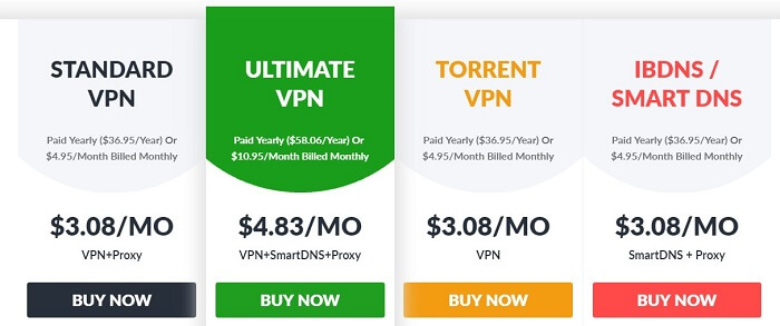 ibVPN-Pricing