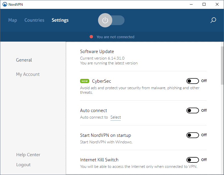 nordvpn-settings
