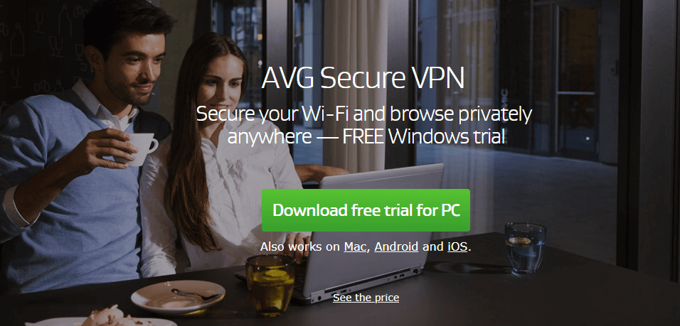 AVG Secure Antivirus with VPN
