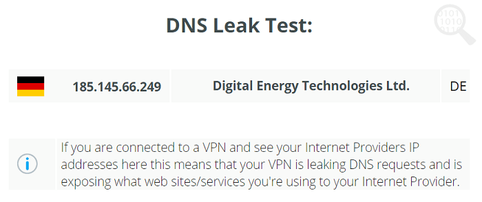 SecurityKISS-DNS-Test