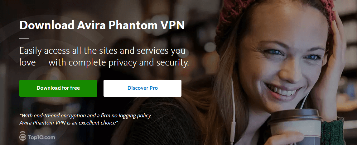 best antivirus VPN avira phantom VPN