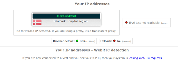WebRTC-Leak-Test-of-IVPN