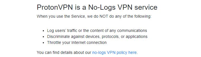 protonvpn-no-logs-policy