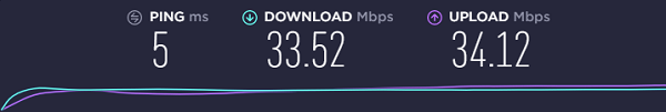 speed-test-result-on-35-mbps-connection