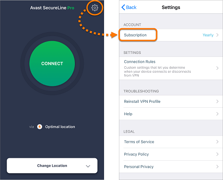 Avast-VPN-iOS-app