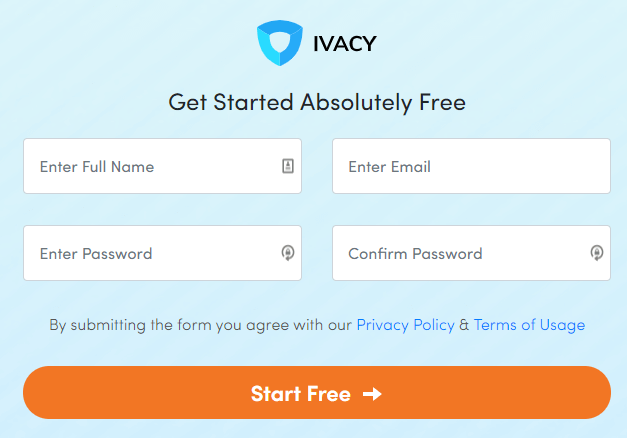 Ivacy-free-trial-page